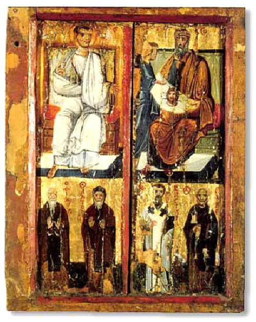 08.21_saint_ap_Thaddeus_rex_Abgar_ikona_Sinai_Sv_Ekaterina