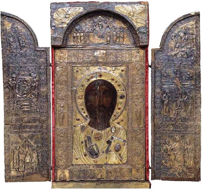 Ancha_Icon_of_the_Savior_(Art_Museum_of_Georgia,_Tbilisi)