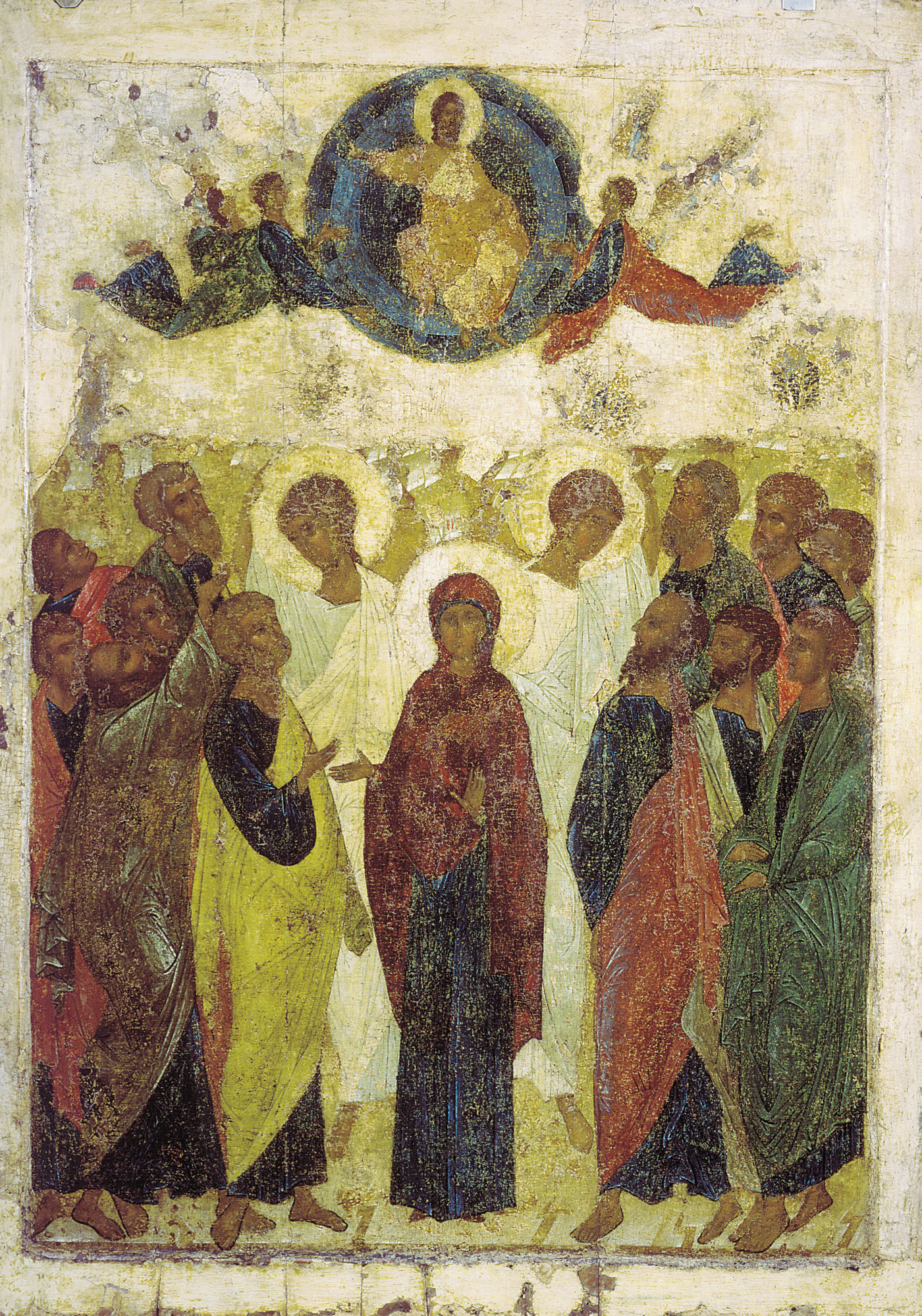Ascension_of-Christ-from_Vasilyevskiy_chin_15th_c_GTG-Andrei-Rublev-year-1408AD