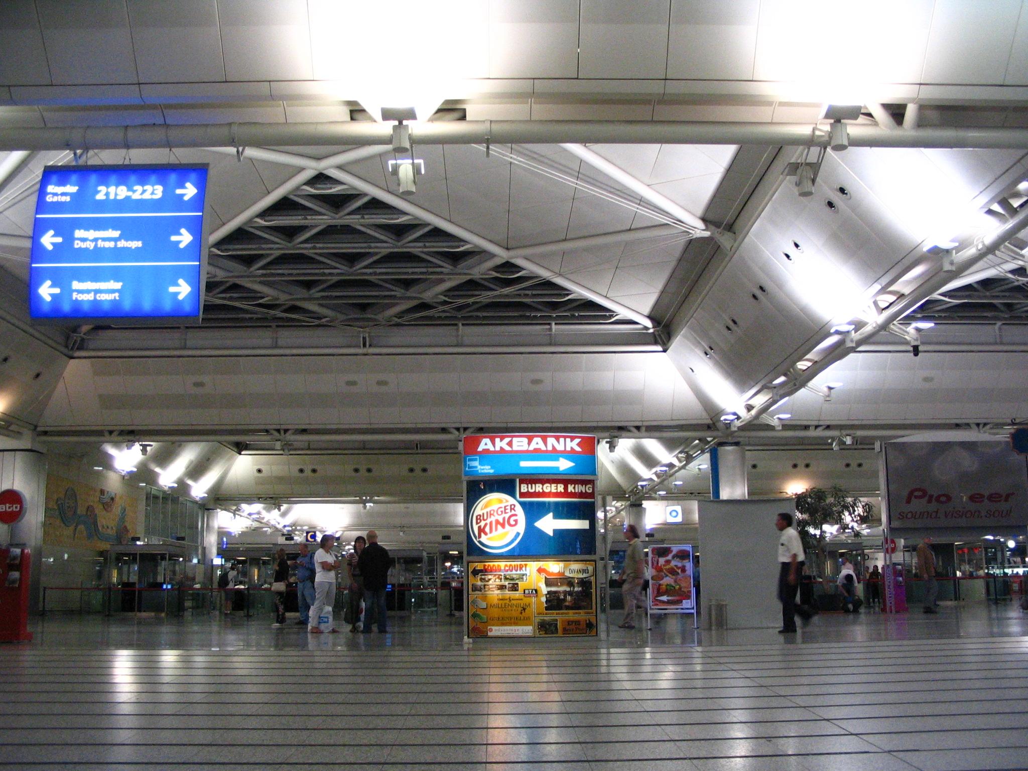 AtaTurk airport Istanbul picture