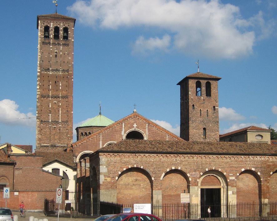 Basilica-Sant-Ambrogio-saint-Ambrose-holy-relics-Italy