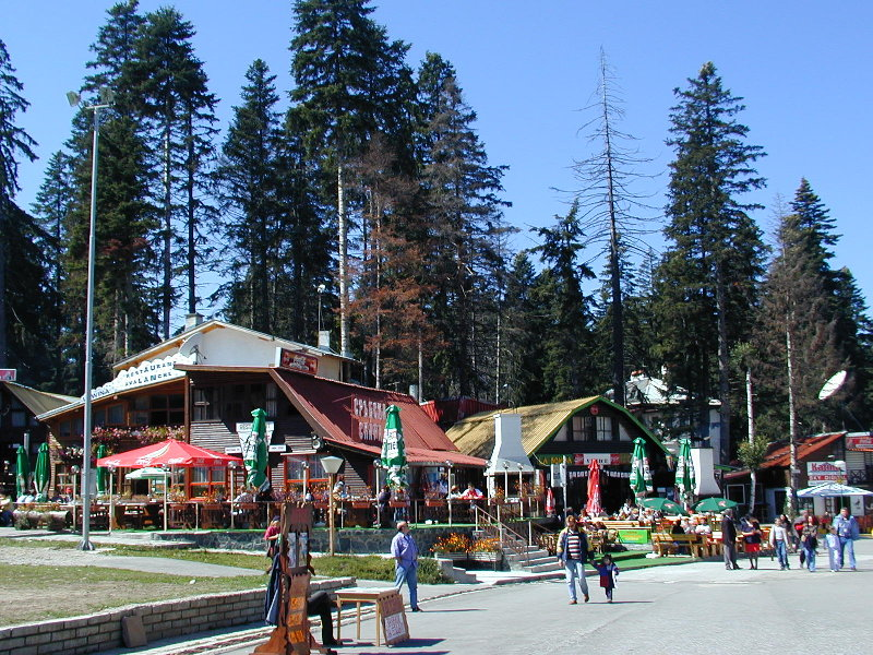 Borovets Bulgaria in summer and autumn time