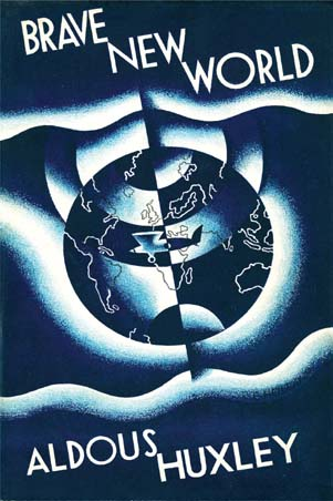 Brave New World First edition Book Cover