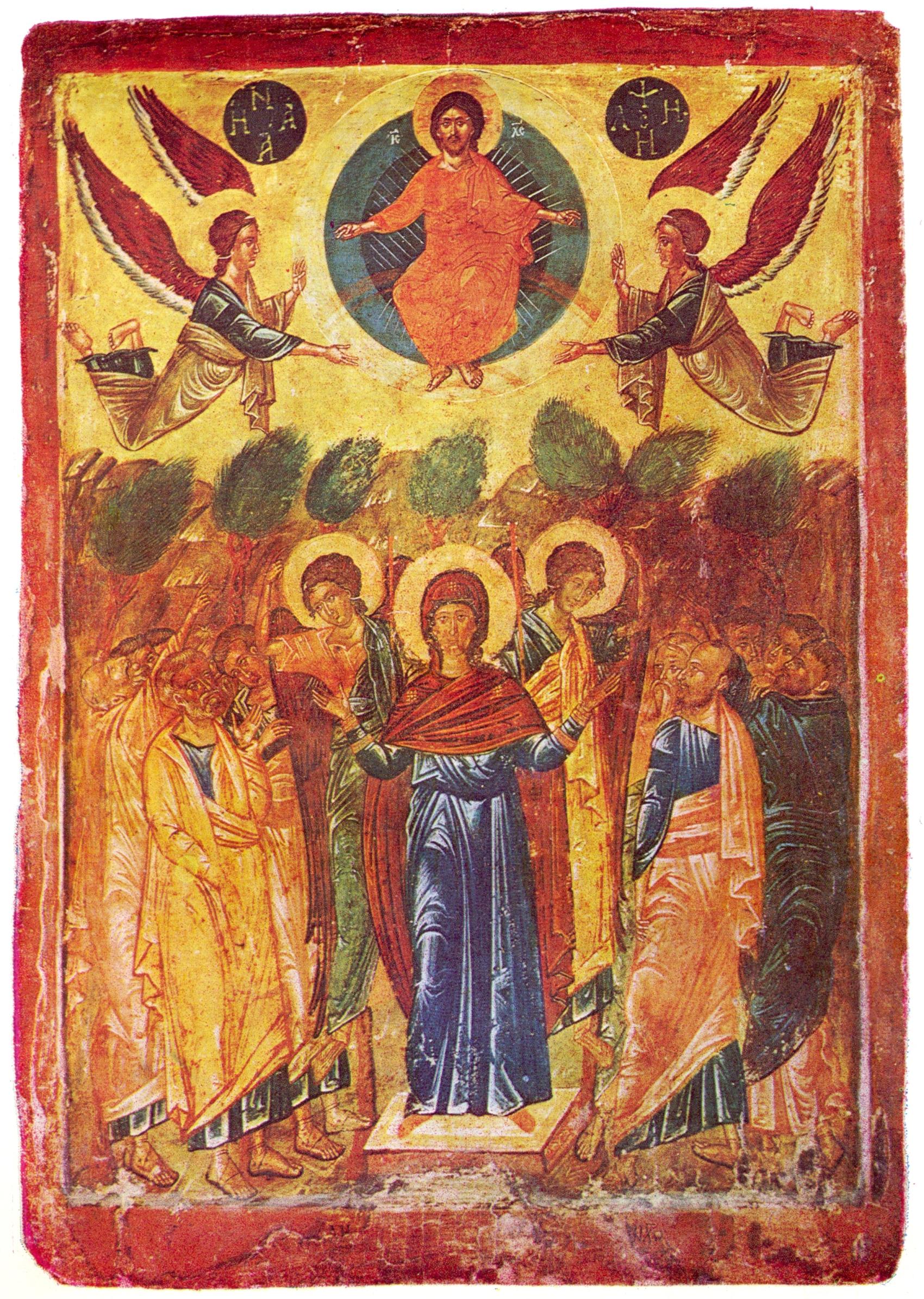Christ-Ascension-icon-Michurin-Bulgaria-16century-beautiful-icon