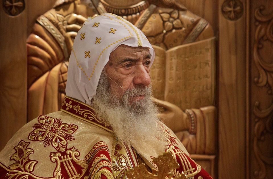 Coptic-patriarch-Shenouda