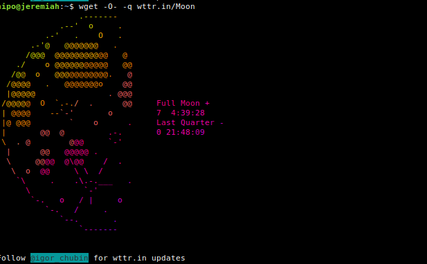 Display-current-Phase-of-Moon-in-terminal-console-Linux-wttr.in-service