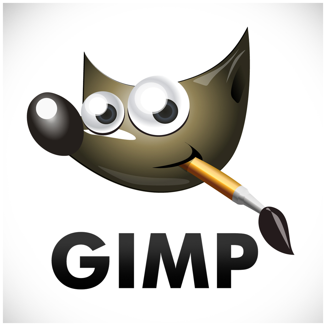 GIMP Logo make picture transparent with GIMP on GNU / Linux