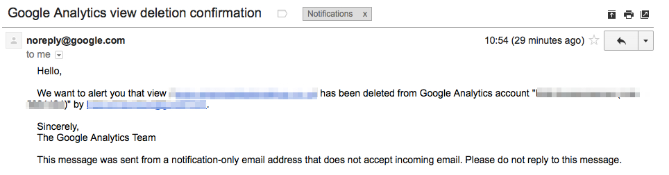 Google-Analytics-delete--confirmation-email