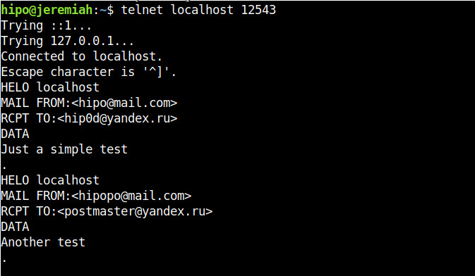 Host-A-Linux-client-connection-handshake-to-proxy-server-with-netcat