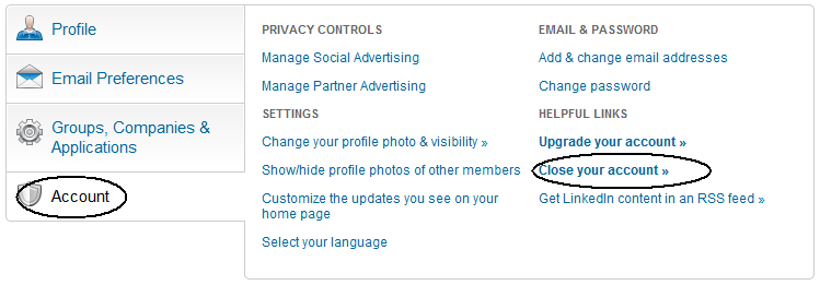 How to delete your linkedin account picture