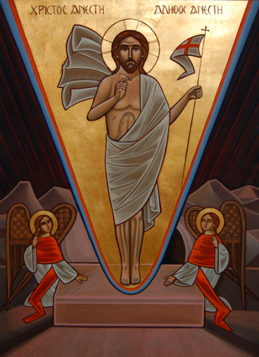 Resurrection-of-Christ-Coptic-christian-icon