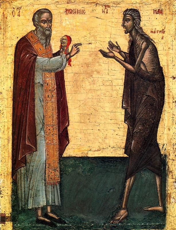 Saint-Maria_of_Egypt-receiving-holy-communion-from-priest-Zosima-in-the-desert