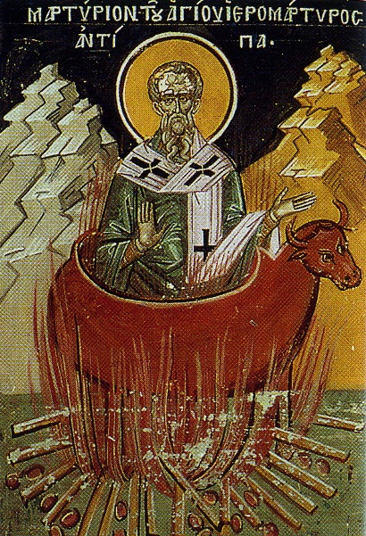 Saint_Antipas-of-Pergamum-burned-in-a-metal-bull