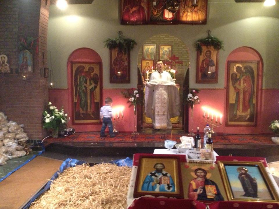Saint Savva Nijmegen Serbian Orthodox Church Bojic Badni dan Rojdestvo Hristovo Nativity