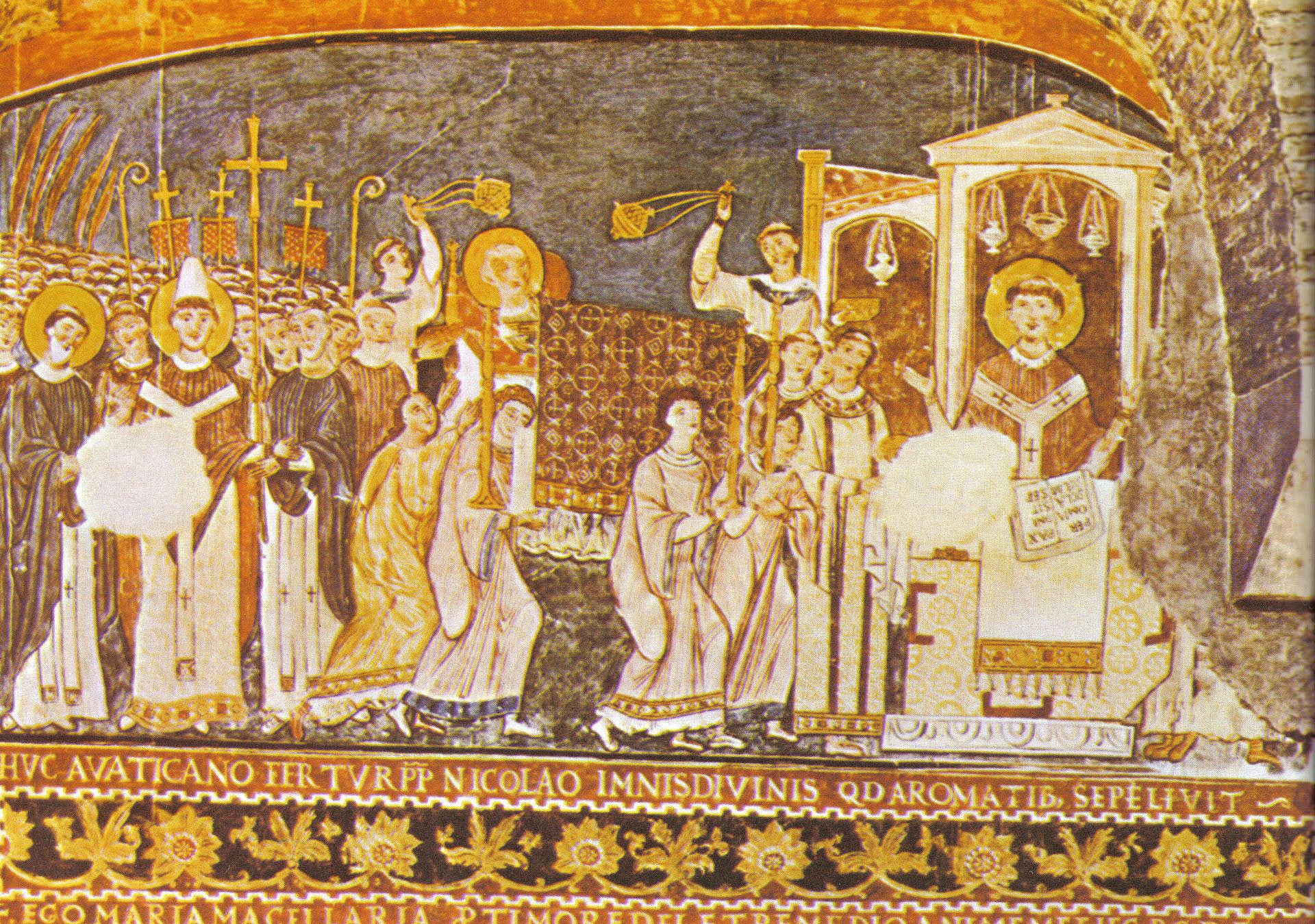 San_clemente_fresco_Saint_Cyril-And-Methodius-in-Rome.