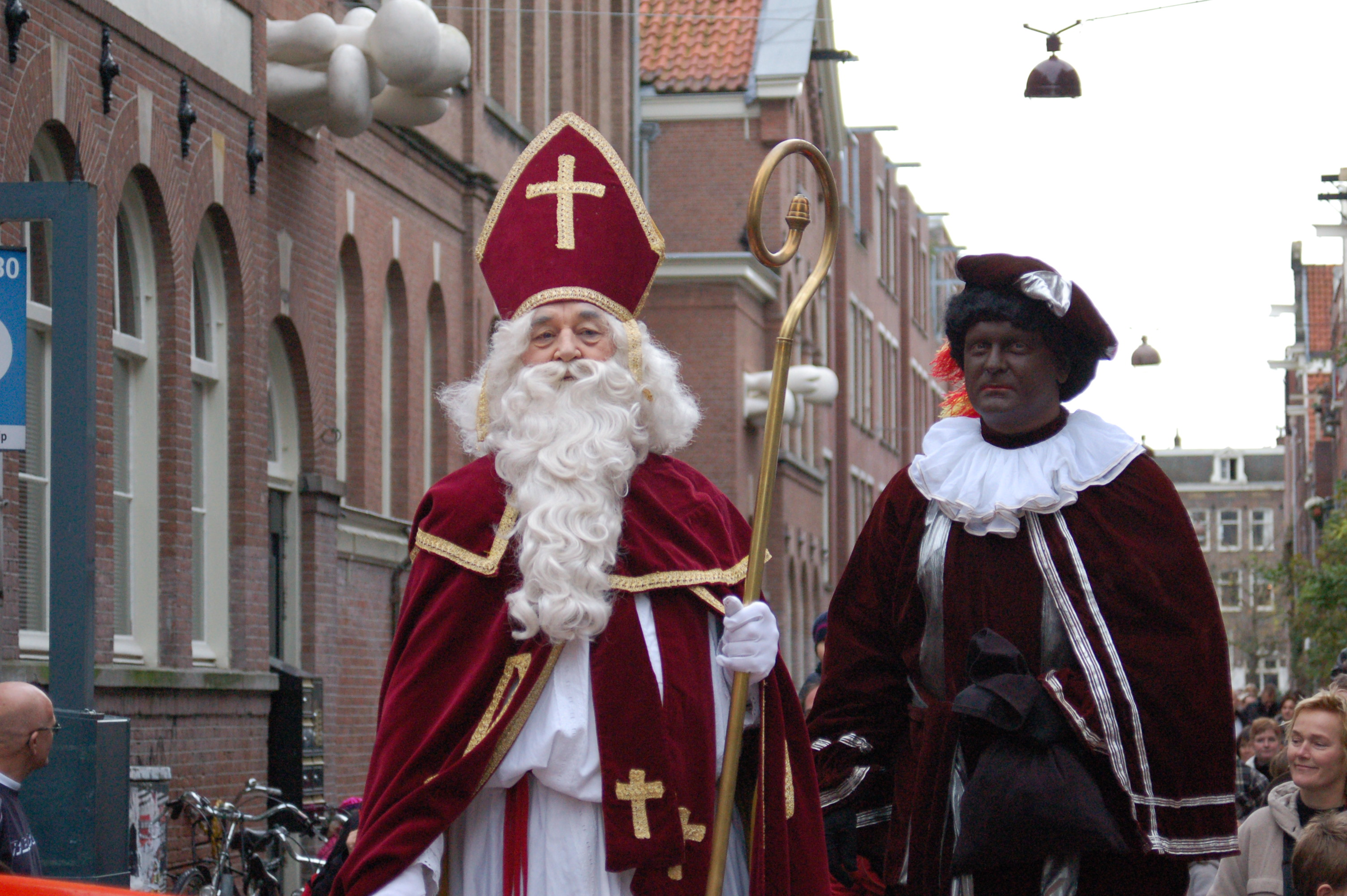 What is the origin of Santa Claus Sinterklaas Zwarte Piet origin of Santa Claus picture