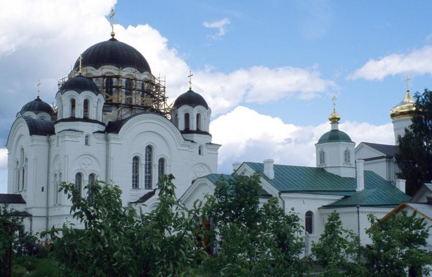 Spaso Efrosinievski manastir Polotsk Belarus main Church building