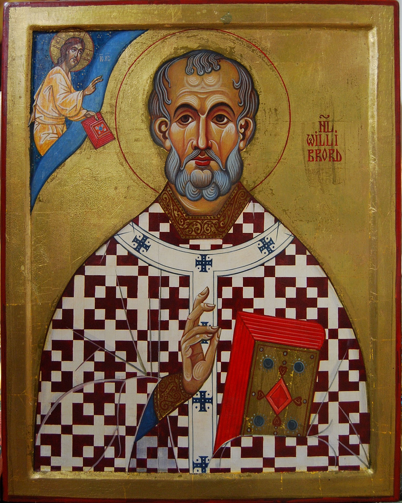 saint Willibrord Apostle of Friesland (Holland) - Unknown origin