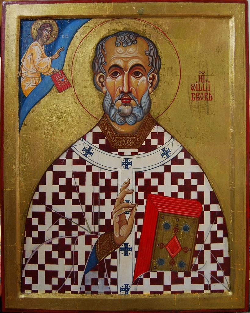 saint Willibrord Apostle of Friesland (Holland) - Unknown origin