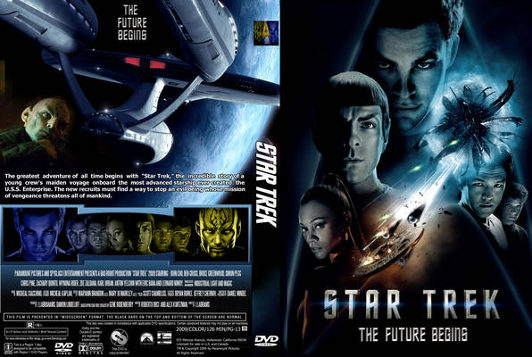 Star Trek - The Future Begins 2009 Front Cover and movie review