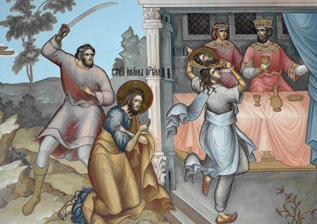 The-Beheading-of-Saint-John-The-Baptist-Salomnia-dance-in-front-of-Herodos-Sv.-Ioan-Krastitel