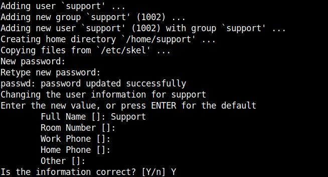 adduser-create-standard-linux-account-screenshot-debian