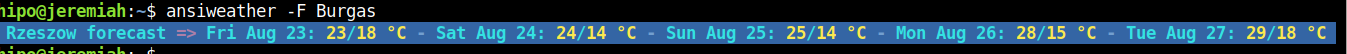 ansiweather-print-weather-forecast-prognosis-for-5-days-in-Linux-text-terminal