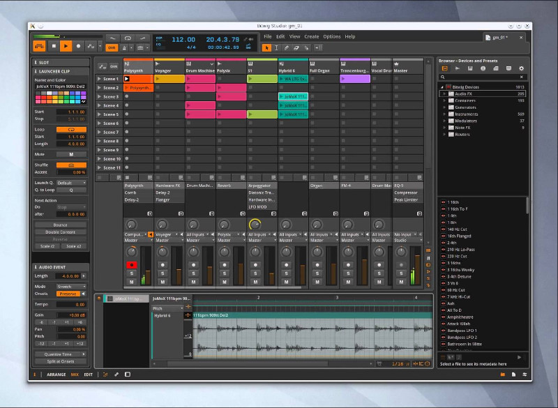 bitwig-midi-and-audio-non-free-software-advanced-useful-sound-editor-for-linx