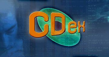 cdex free software burning audio music cd to mp3 program logo