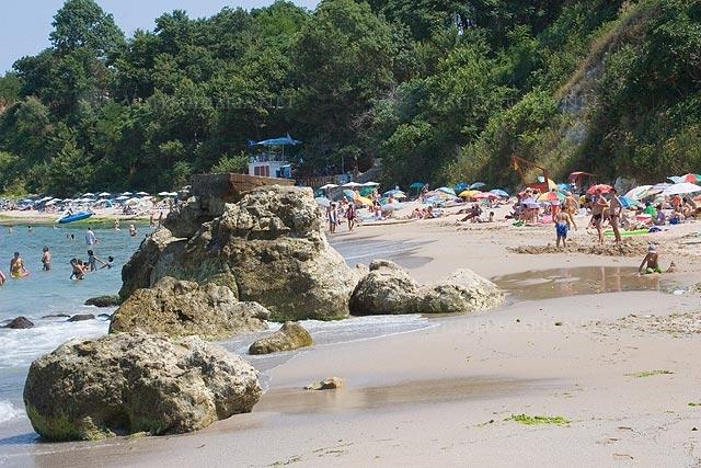 Central beach Tzarevo picture