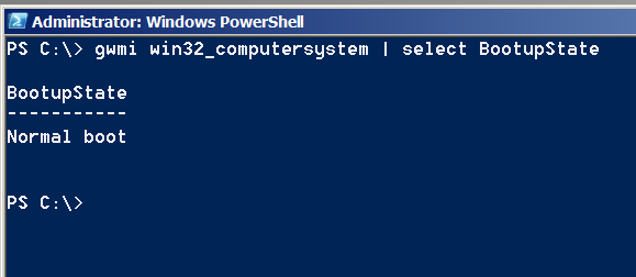 check-whether-windows-is-working-in-safe-mode-gwmi-powershell-screenshot
