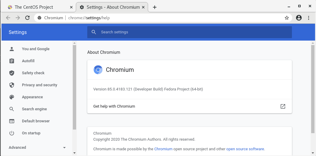 chromium-open-source-browser-on-centos-7-screenshot