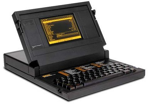 COMPAQ Grid Compass considered first laptop / notebook on earthy 30 anniversary of the portable computer