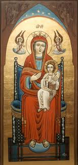 Holy Theotokos Coptic Oriental Orthodox icon