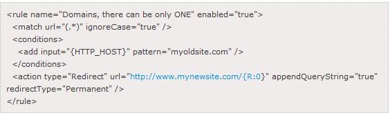 domain1-to-domain2-redirect-iis
