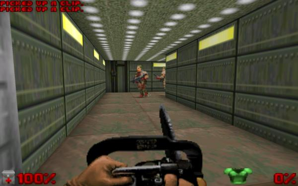 Doom 2 game screenshot