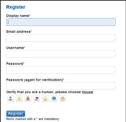 Elgg Community Elgg Captcha 1.8.3 Screenshot