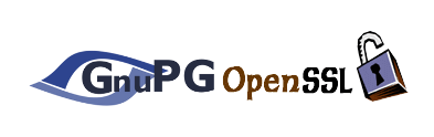 Encrypt files and directories with OpenSSL and GPG (GNUPG), OpenSSL and GPG encryption logo