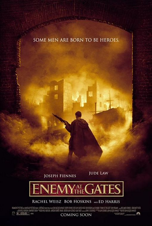 Enemy at the Gates second world war 2 movie cover