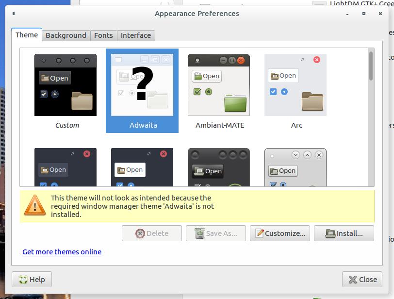 fixing-mate-adwaita-theme-problems-on-Debian-Ubuntu-Linux-the-actual-problem-screenshot