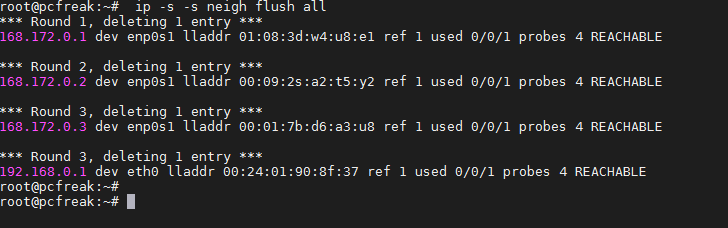 flush-all-arp-cache-addresses-on-linux-howto-with-ip-command
