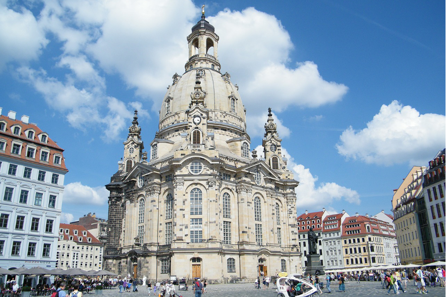 frauenkirche-dresden-Protestant-Cathedral