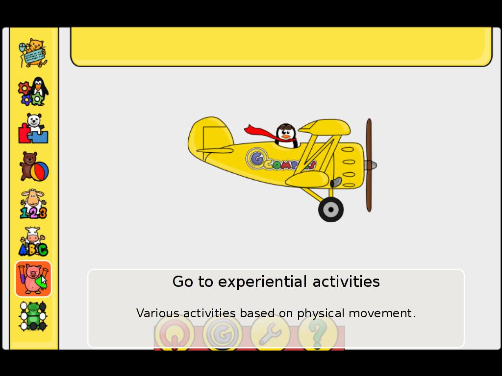 Gcompris children intellect develop Experimental activities