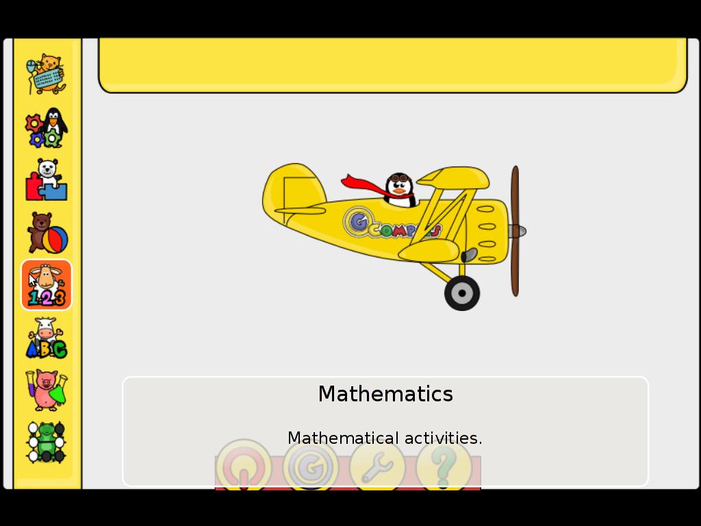 Gcompris Mathematics