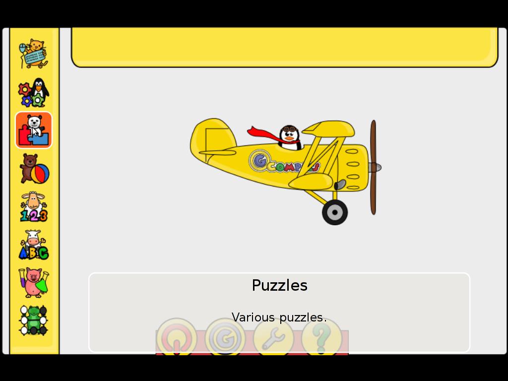 Gcompris puzzle games