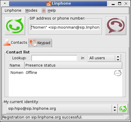 good working skype inux alternative to proprietary skype voice video chat program - linphone rulez