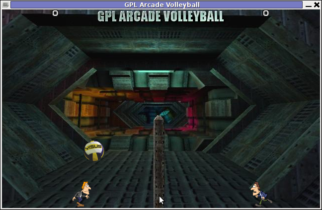GPL Arcade Volleyball unnamed Gameplay Theme Debian