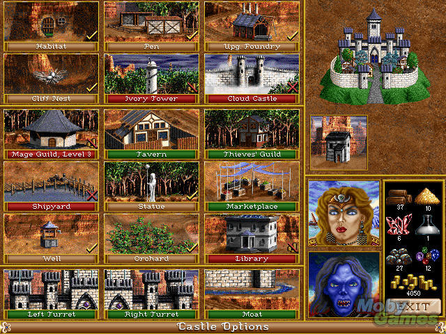heroes-of-might-and-magic-ii-the-succession-wars-wizard-castle-building-options-screenshot