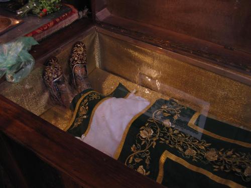 Holy Relics of Saint Serbian King Milutin, Bulgaria, Sofia st. Nedelia Cathedral