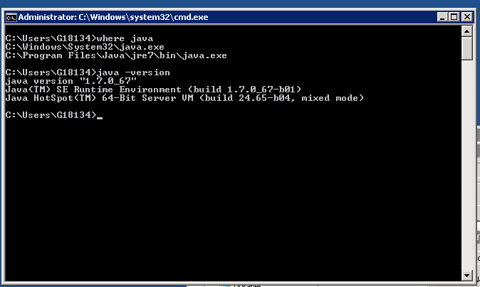 how-to-check-get-java-version-info-on-windows-server-screenshot